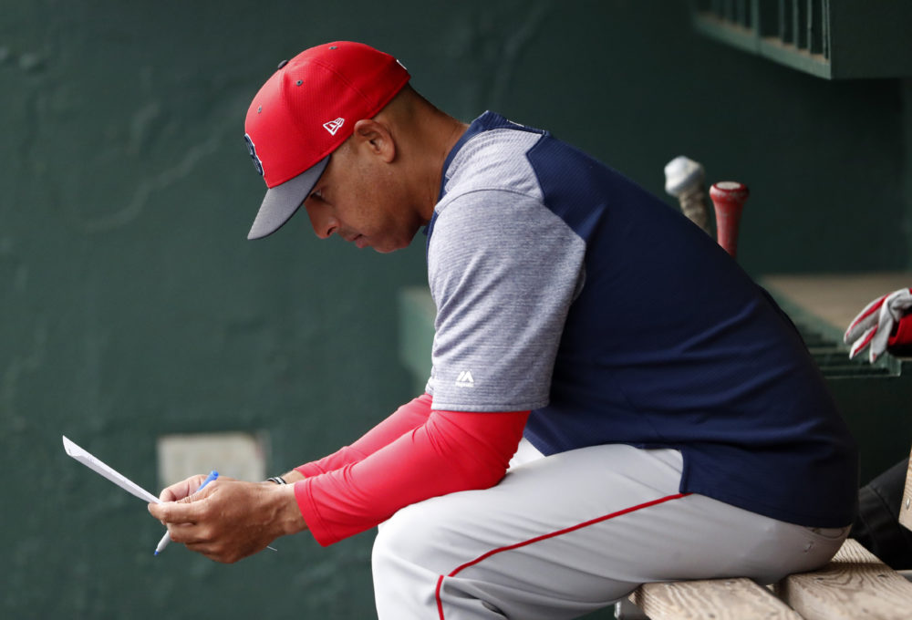 Boston Red Sox manager Alex Cora in 2019. (John Bazemore/AP)
