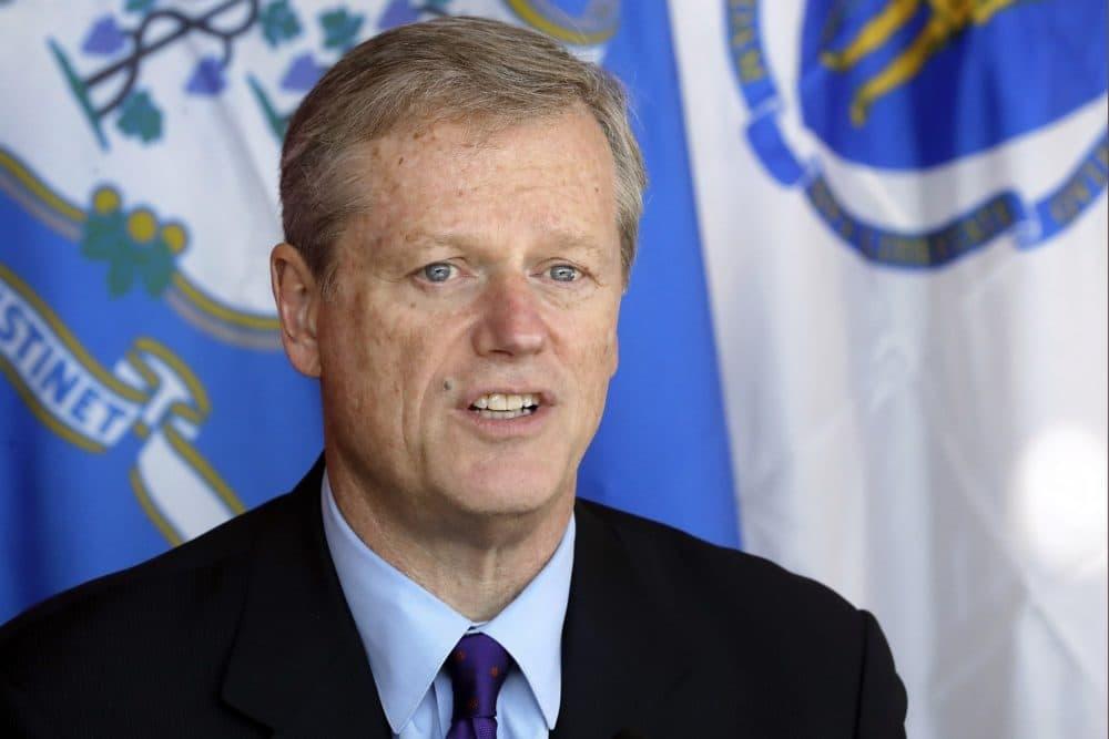 Massachusetts Gov. Charlie Baker. (Steven Senne/AP)