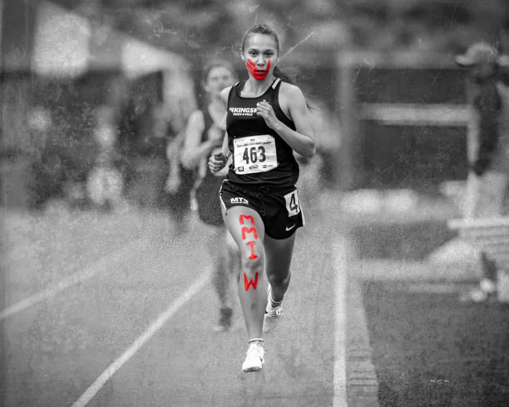 Indigenous Runners Rosalie Fish And Jordan Marie Daniel Run For ...