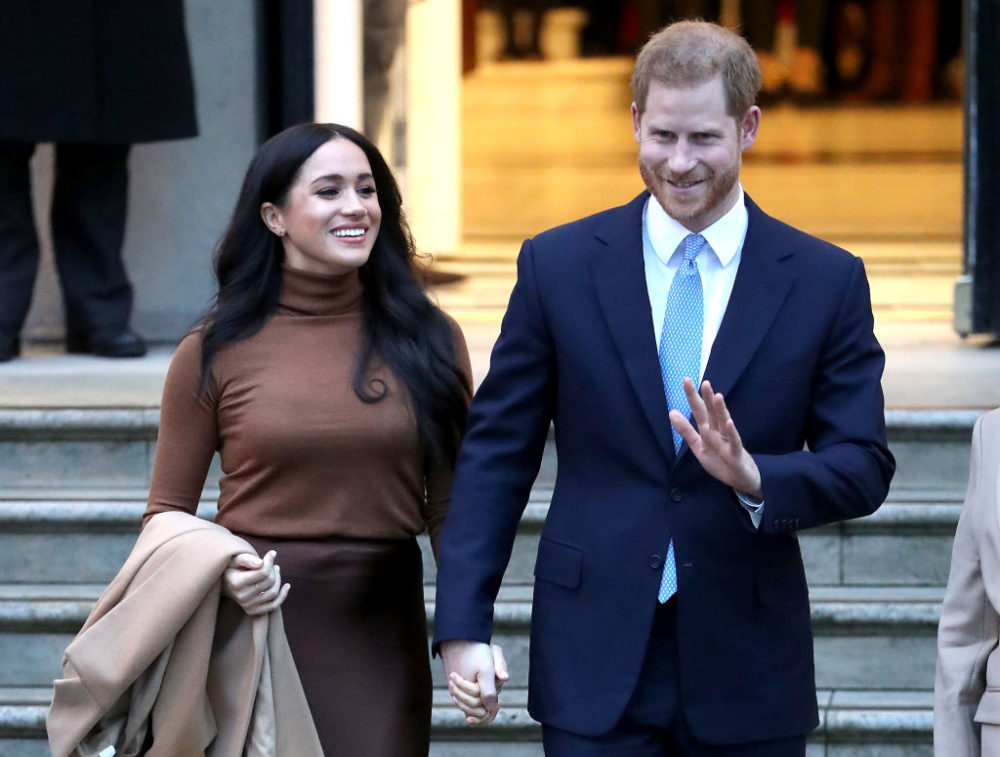 As part of their agreement with the queen, Harry and Meghan will drop their royal titles and will no longer receive public funds. (Chris Jackson/Getty Images)