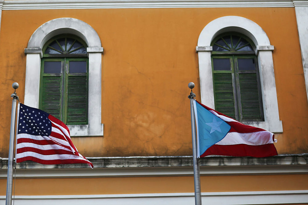 Puerto Ricans living in Florida are seen as potentially important voters in a crucial swing state. (Joe Raedle/Getty Images)