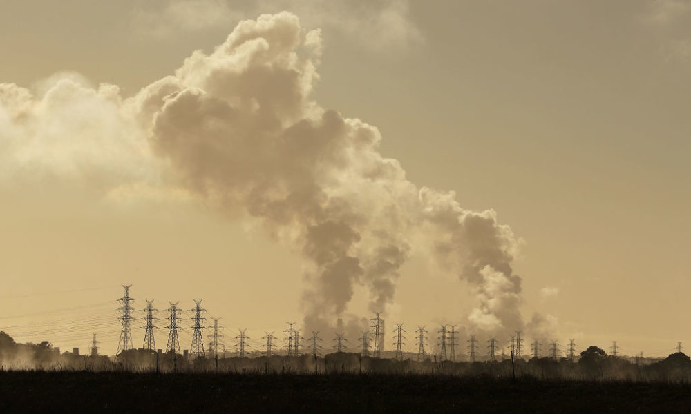 The transition away from coal is a polarizing topic in Australia. (Scott Barbour/Getty Images)