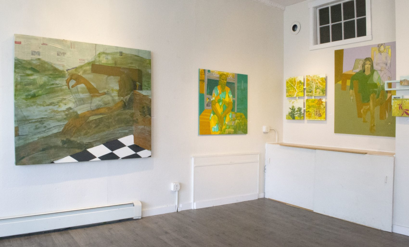 "Installation view of Hana Yilma Godine's solo show ""Spaces Within Space"" at Gallery 263. (Courtesy)"