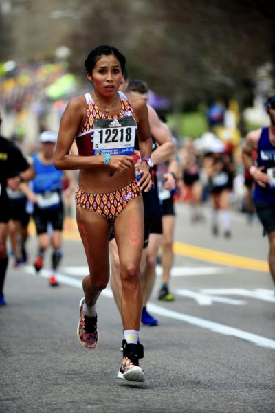 Jordan Marie Daniel became a role model for Rosalie. (Boston Athletic Association)