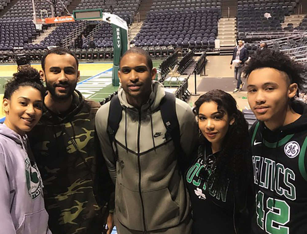 Al Horford and his sibblings. From left to right: Maria, Jon, Al, Anna and Josh. (Courtesy Anna Horford)