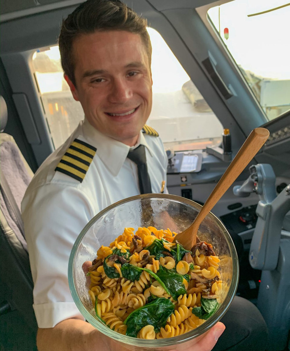 Pilot Matthew Ayer (Courtesy)