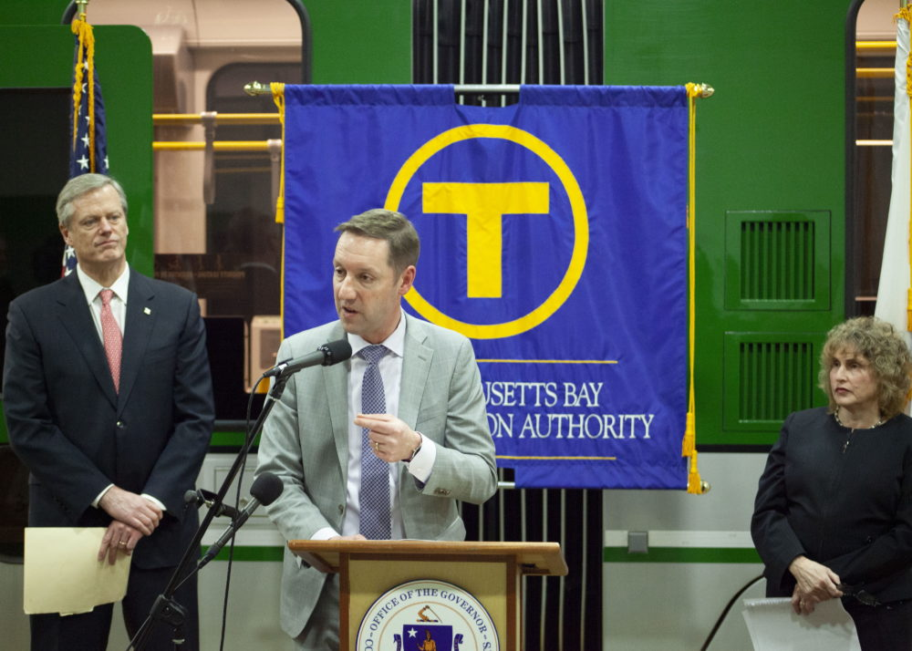 MBTA General Manager Steve Poftak said closure plans for 2020 will be far more sweeping than last year, with about five times the amount of work planned. (Chris Lisinski/SHNS)