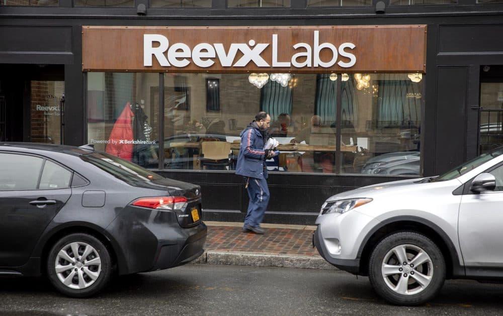 ReeVx Labs, on Washington Street in Roxbury. (Robin Lubbock/WBUR)
