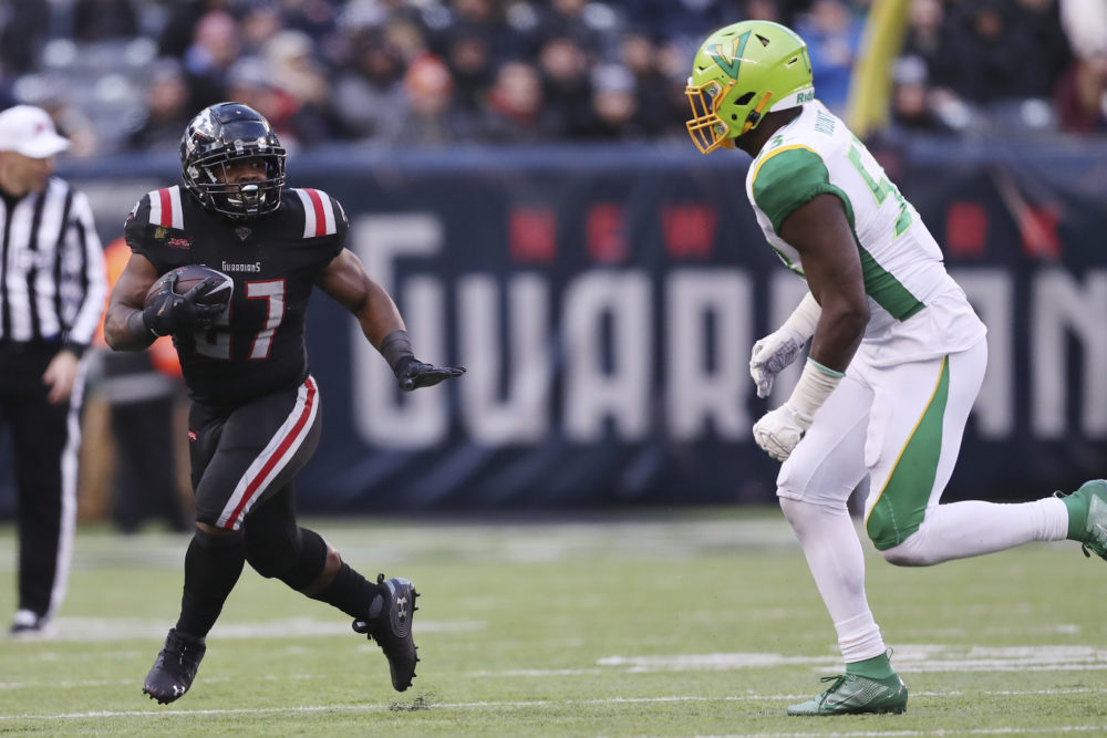 There's a reason Darius Victor became such a hard-hitting running back. (Steve Luciano/AP)
