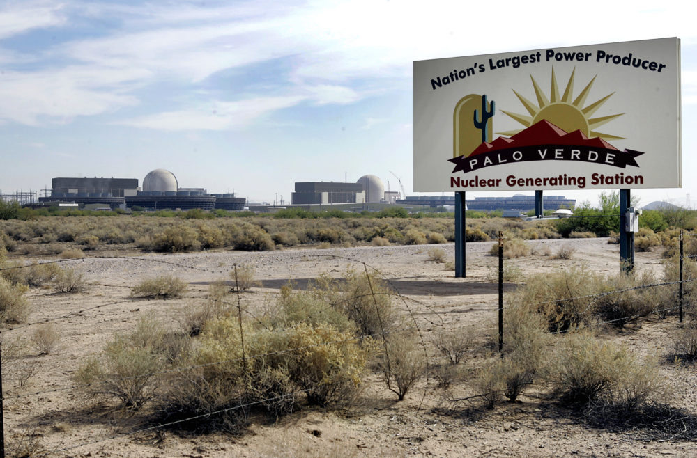 The Palo Verde Nuclear Generating Station in Wintersburg, Arizona. (Ross D. Franklin/AP)