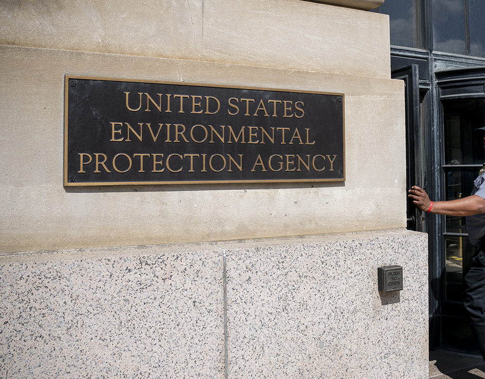 The U.S. Environmental Protection Agency. (J. Scott Applewhite/AP)