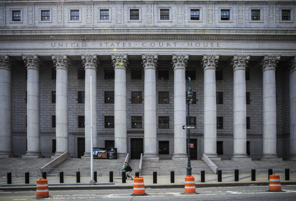 The Thurgood Marshall U.S. Courthouse where the Second Circuit Court of Appeals is located in New York's lower Manhattan. (Mary Altaffer/AP File Photo)