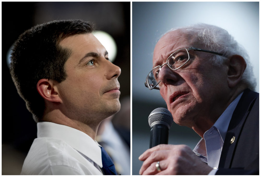We discuss howSanders and Corbyn are alike and different, and the similarities and differences between Macron and Buttigieg. (AP)