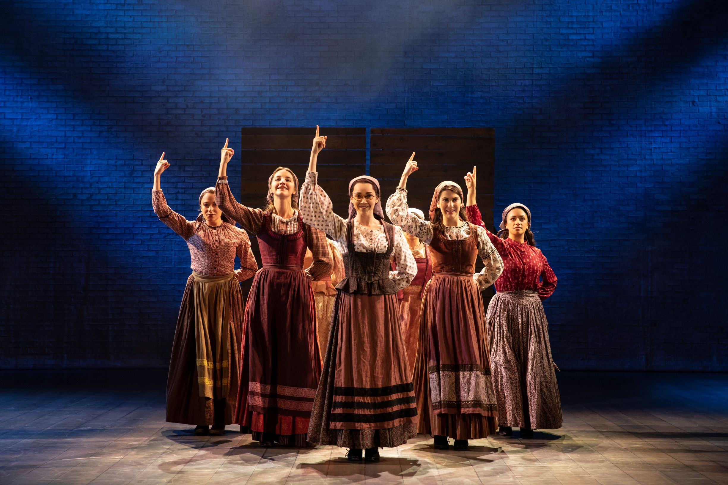 "The Cast of ""Fiddler on the Roof."" (Courtesy Joan Marcus)"