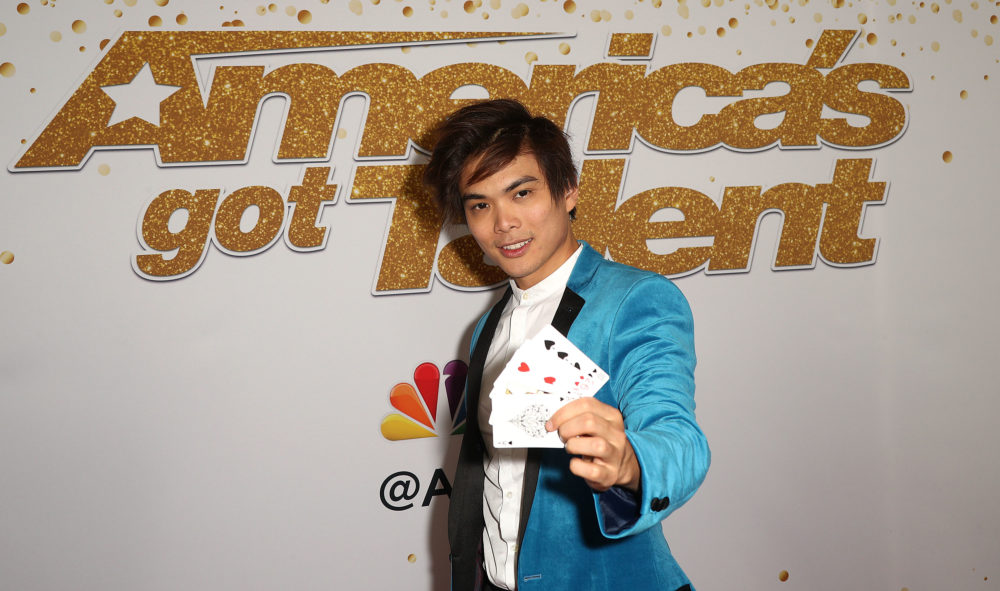 "Shin Lim is the winner of ""America's Got Talent"" Season 13 Finale Live Show Red Carpet in 2018. (Frederick M. Brown/Getty Images)"