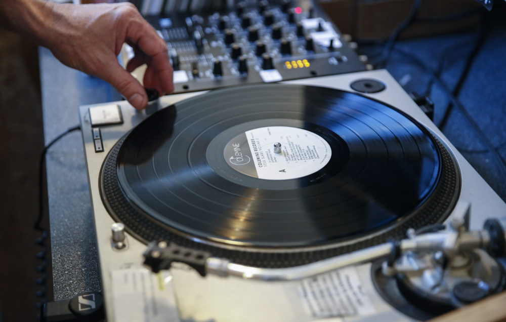 Experts say lacquers, a critical component of vinyl production, will now be in short supply. (Kamil Krzaczynski/AFP/Getty Images)