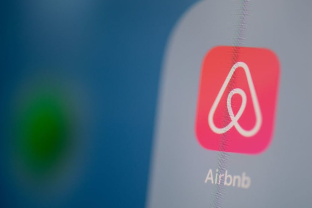 Airbnb was valued at $31 billion in its last funding round in 2017, and said last year it plans to go public in 2020. (Martin Bureau/AFP/Getty Images)