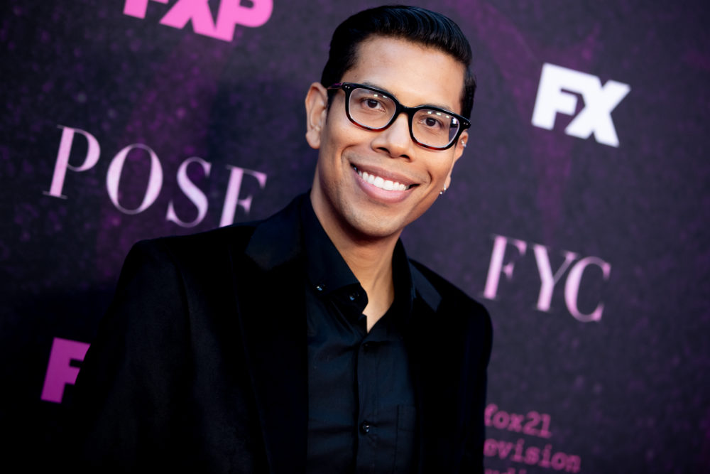 "Steven Canals attends the red carpet event for FX's ""Pose"" at Pacific Design Center on Aug. 09, 2019 in West Hollywood, California. (Rich Fury/Getty Images)"