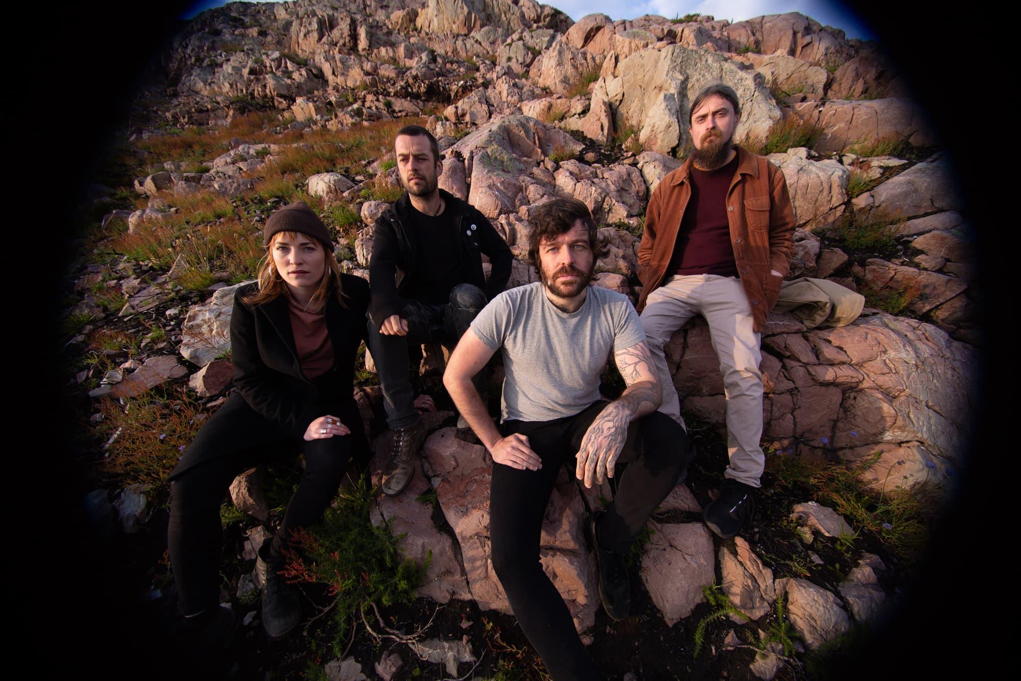 The band Lankum. (Courtesy Ellius Grace)