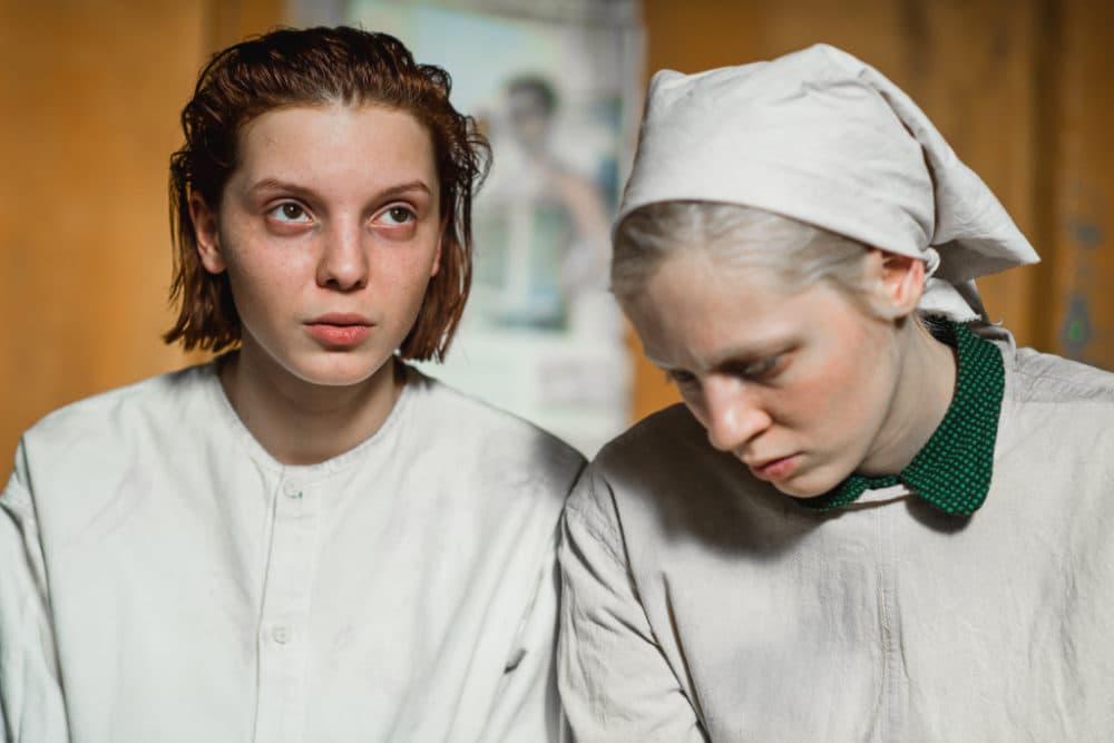 """Vasilisa Perelygina, left, and Viktoria Miroshnichenko in """"Beanpole."""" (Courtesy Kino Lorber)"""