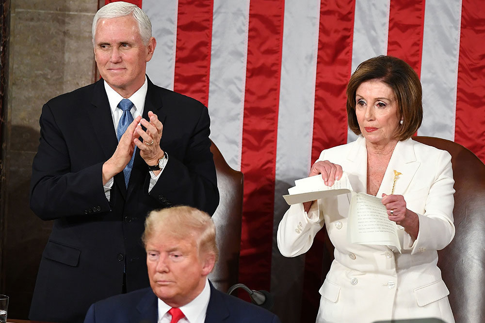 Week In The News Impeachment Iowa Caucus Latest Trump S State Of The Union Address On Point