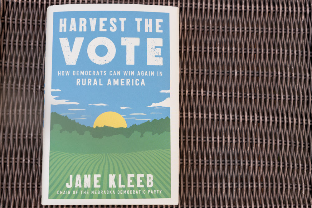 """""""Harvest the Vote: How Democrats Can Win Again in Rural America"""" by Jane Kleeb. (Allison Hagan/Here & Now)"""