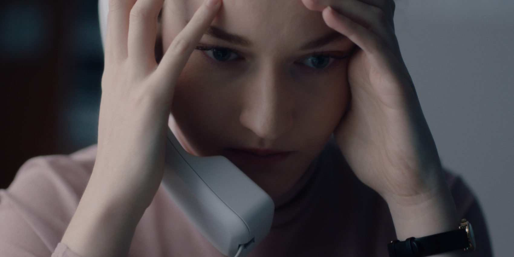 "Julia Garner stars as Jane in ""The Assistant."" (Courtesy Bleecker Street)"