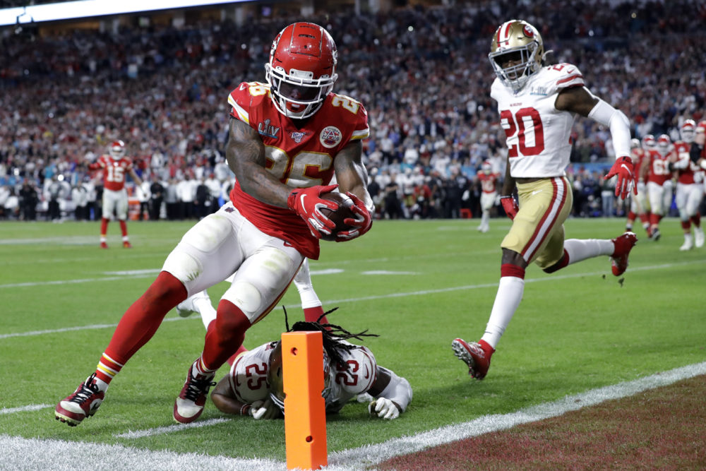 Kansas City Chiefs Win Super Bowl Liv Against San Francisco 49ers 31 20 Wbur News