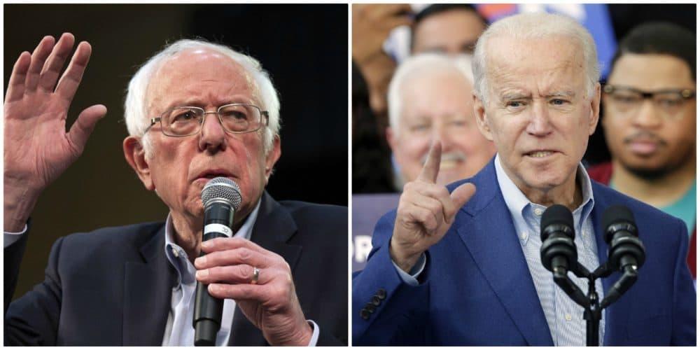 Sen. Bernie Sanders and former Vice President Joe Biden. (AP)