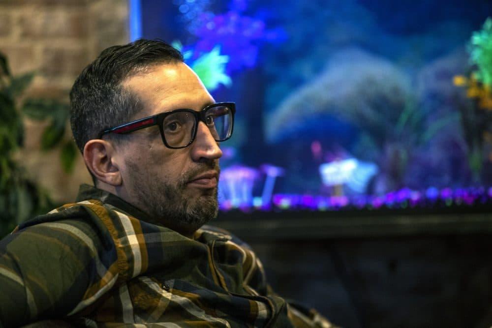 Michael Earielo. (Jesse Costa/WBUR)