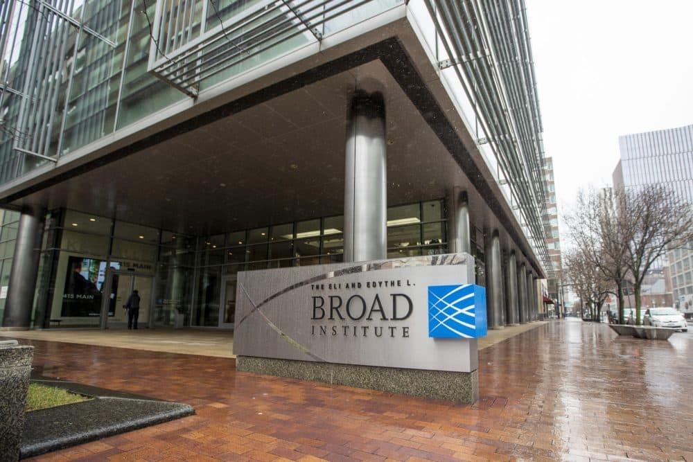 The Broad Institute at MIT. (Jesse Costa/WBUR)