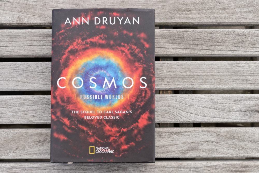 """Cosmos: Possible Worlds"" by Ann Druyan. (Allison Hagan/Here & Now)"