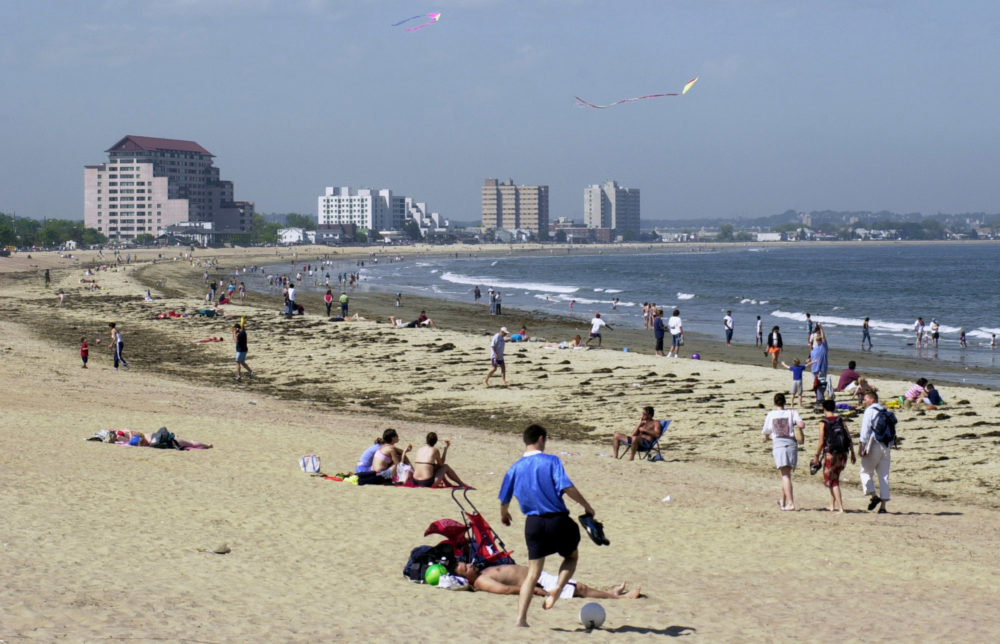 Revere Beach is pictured on June 15, 2003. (Angela Rowlings/AP)