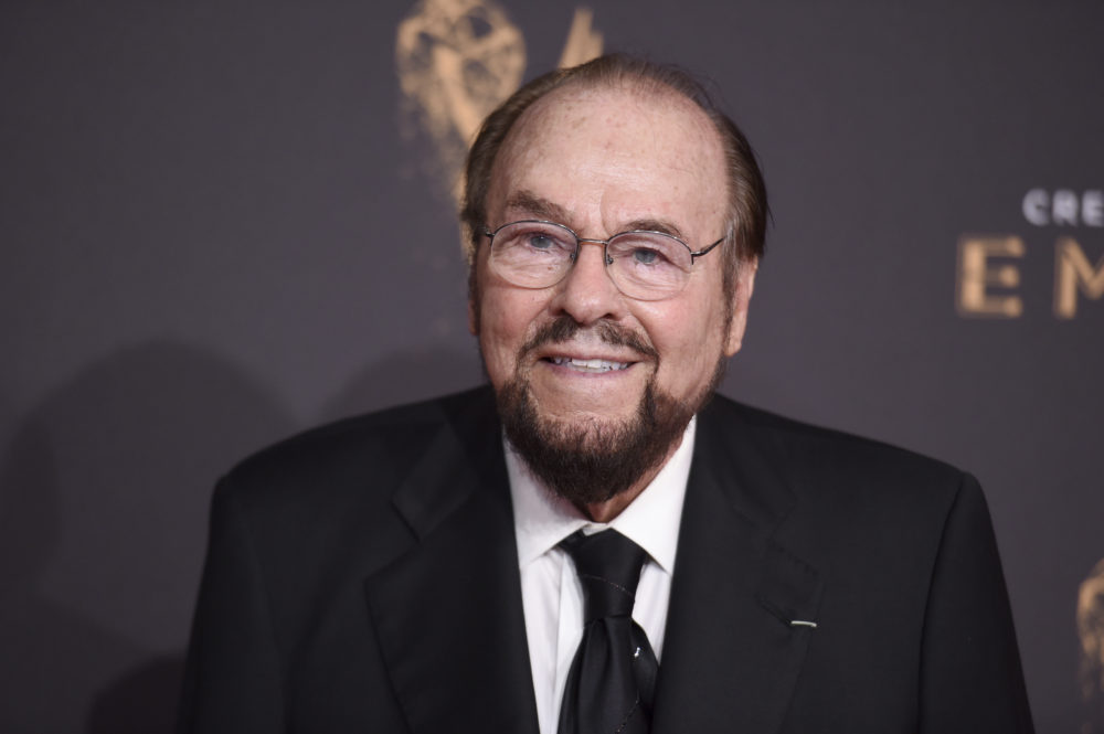 This Sept. 9, 2017 file photo show James Lipton at night one of the Creative Arts Emmy Awards at the Microsoft Theater in Los Angeles. Lipton died March 2, 2020, of bladder cancer at his home, his wife, Kedakai Lipton, told the New York Times and the Hollywood Reporter. (Richard Shotwell/Invision/AP)