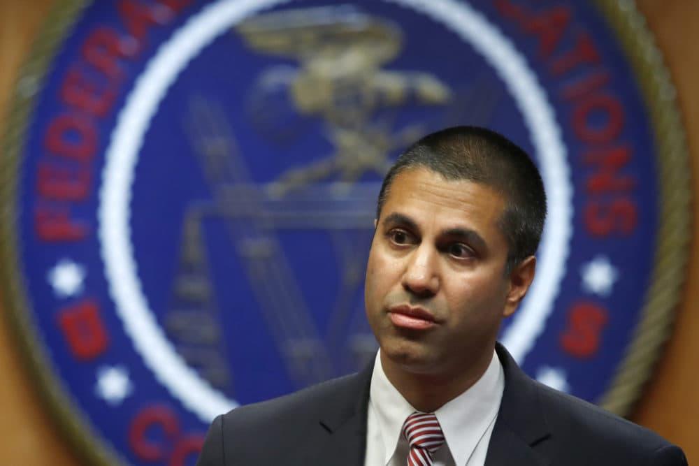 FCC Chairman Ajit Pai. (Jacquelyn Martin/AP)