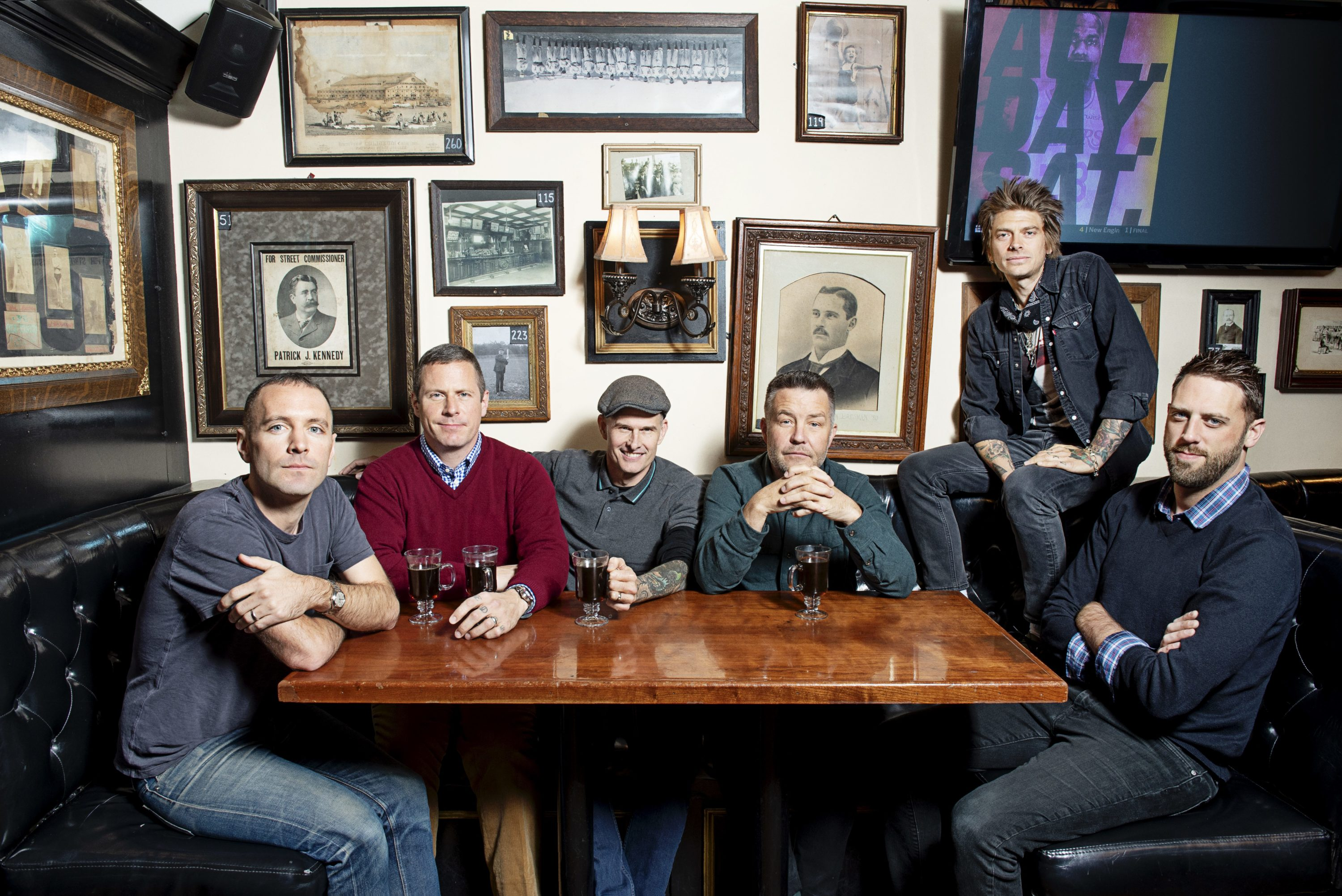 The Dropkick Murphys (Courtesy Webb Chappell)