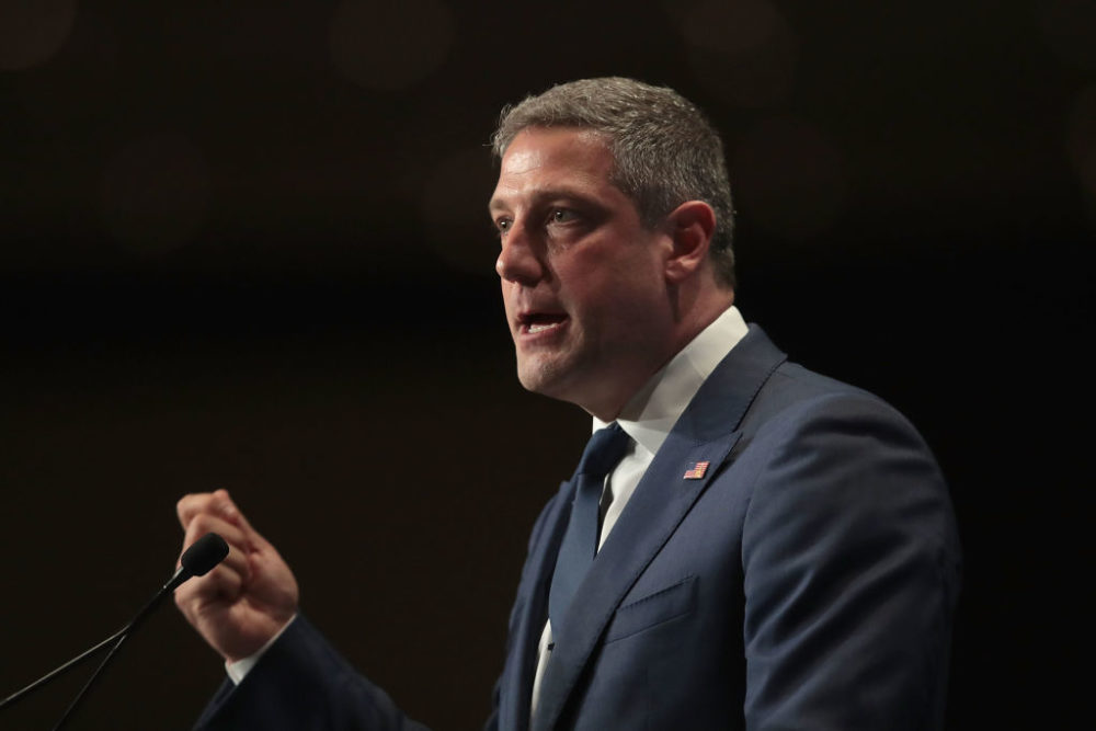 Rep. Tim Ryan supports Joe Biden for president. (Scott Olson/Getty Images)