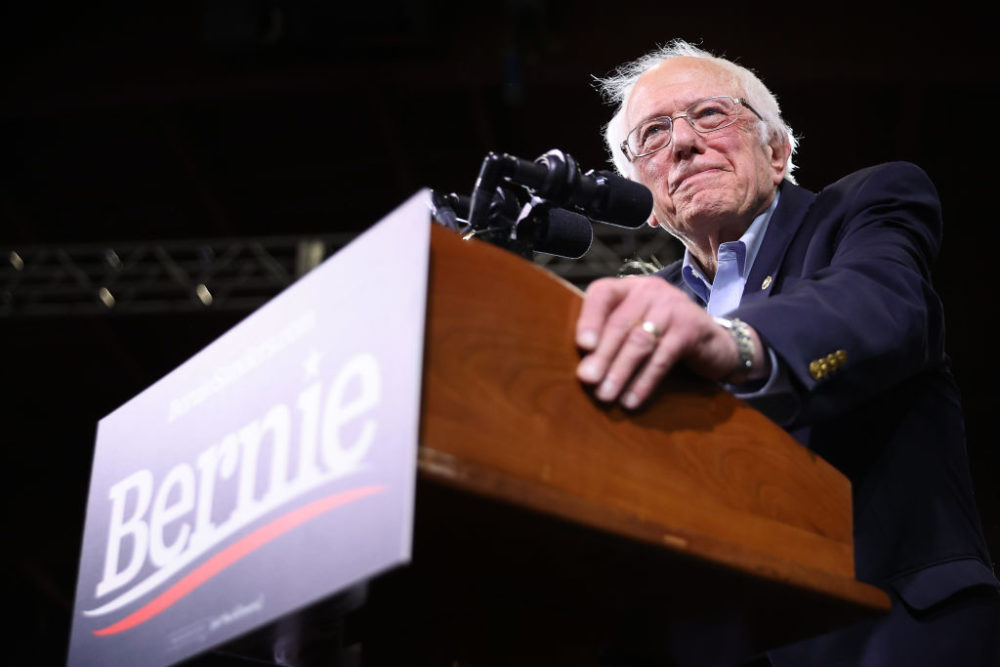 Democratic presidential candidate Sen. Bernie Sanders. (Chip Somodevilla/Getty Images)