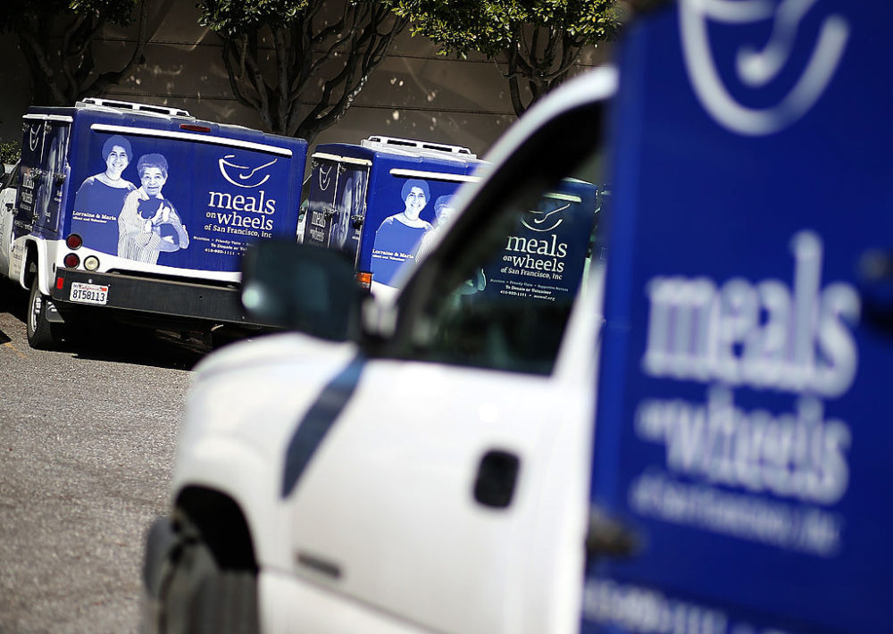 Meals On Wheels of San Francisco. (Justin Sullivan/Getty Images)