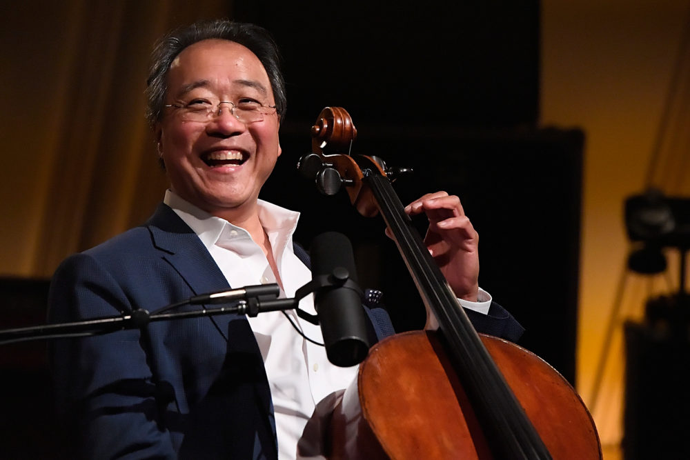 Yo-Yo Ma. (Larry French/Getty Images for SiriusXM)