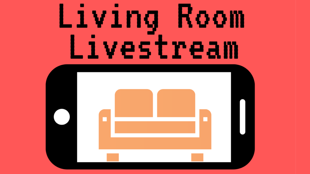 The ARTery's Living Room Livestream (Arielle Gray/WBUR)