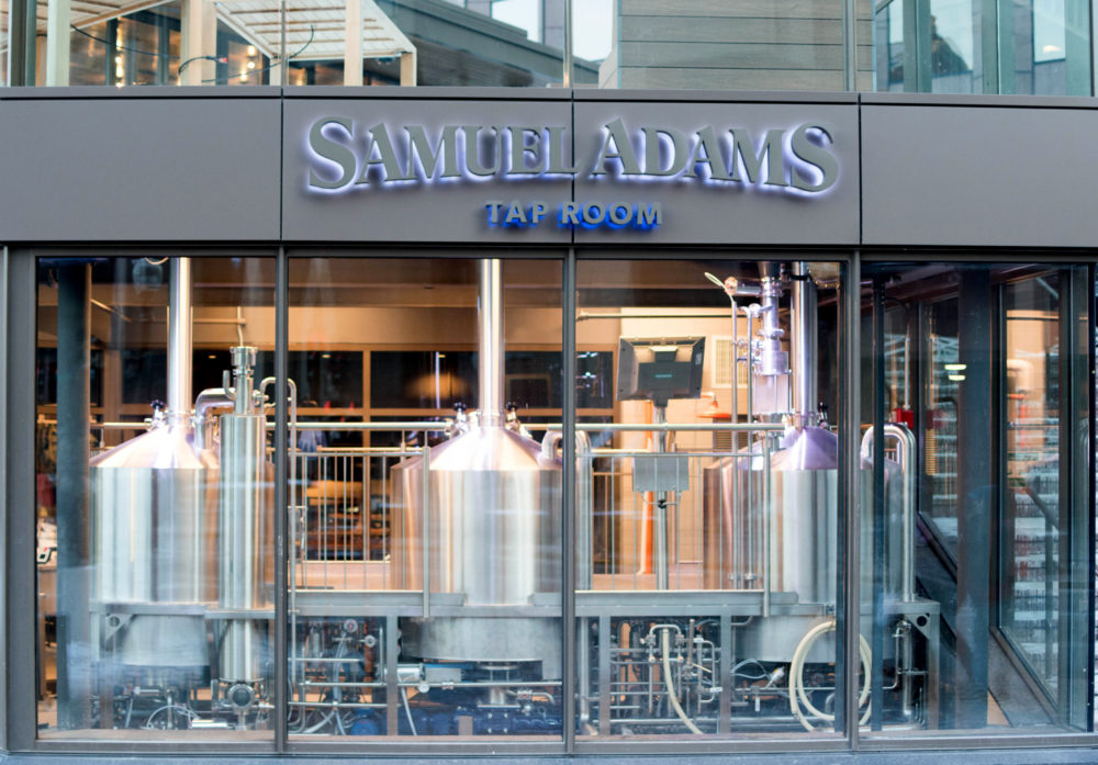 Non-essential businesses must close for two weeks under the state's new order, though stores and establishments that allow delivery orders can remain open. Pictured is Sam Adams Brewery, which has also contributed $100,000 to the Restaurant Strong Fund which supports Massachusetts restaurant workers unable to work due coronavirus-related closures. (Courtesy Sam Adams)