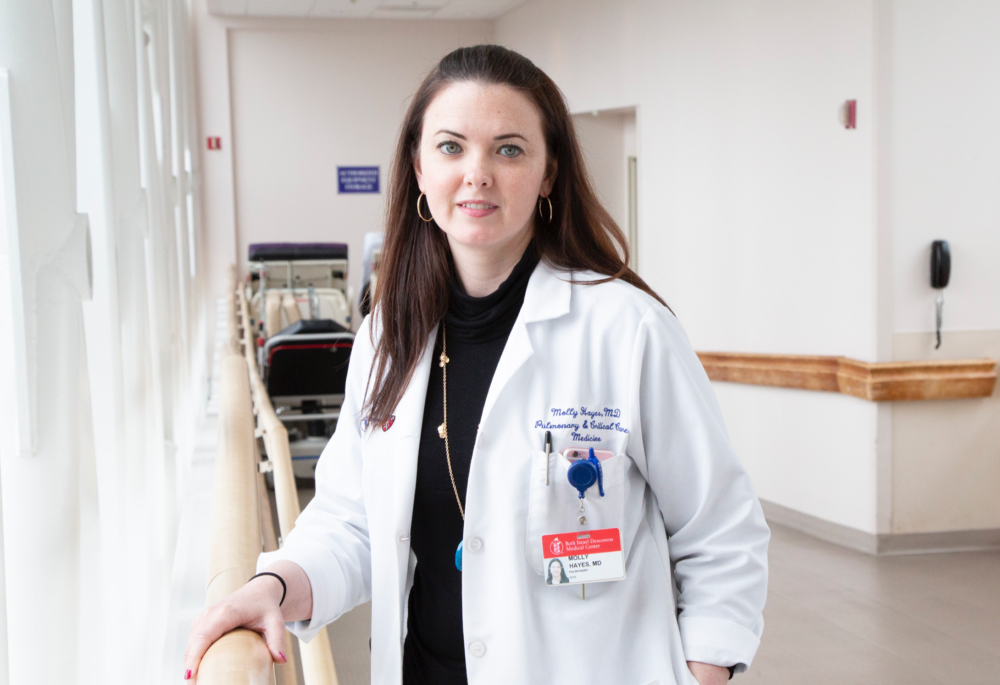 Dr. Molly Hayes, a lung specialist who directs the medical intensive care unit at Beth Israel Deaconess Medical Center. (Courtesy)