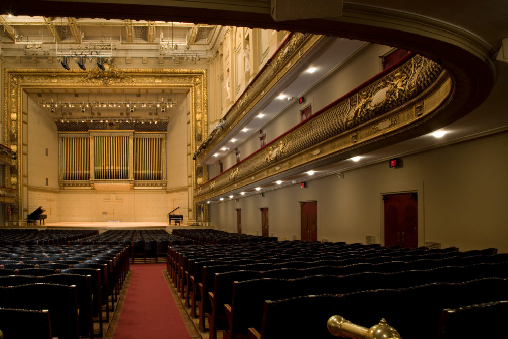 As Symphony Hall sits empty, BSO musicians are making videos from home to share music with their fans. (Courtesy Boston Symphony Orchestra)