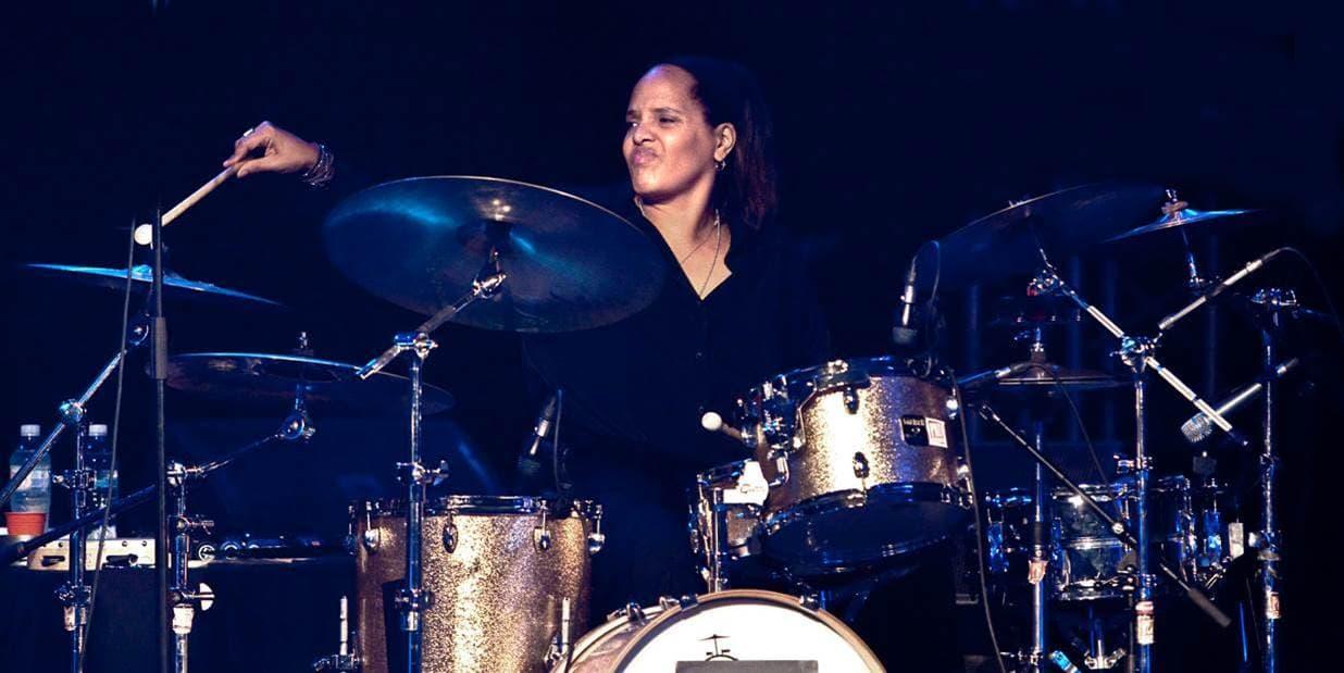 Jazz drummer Terri Lyne Carrington. (Courtesy John Watson)