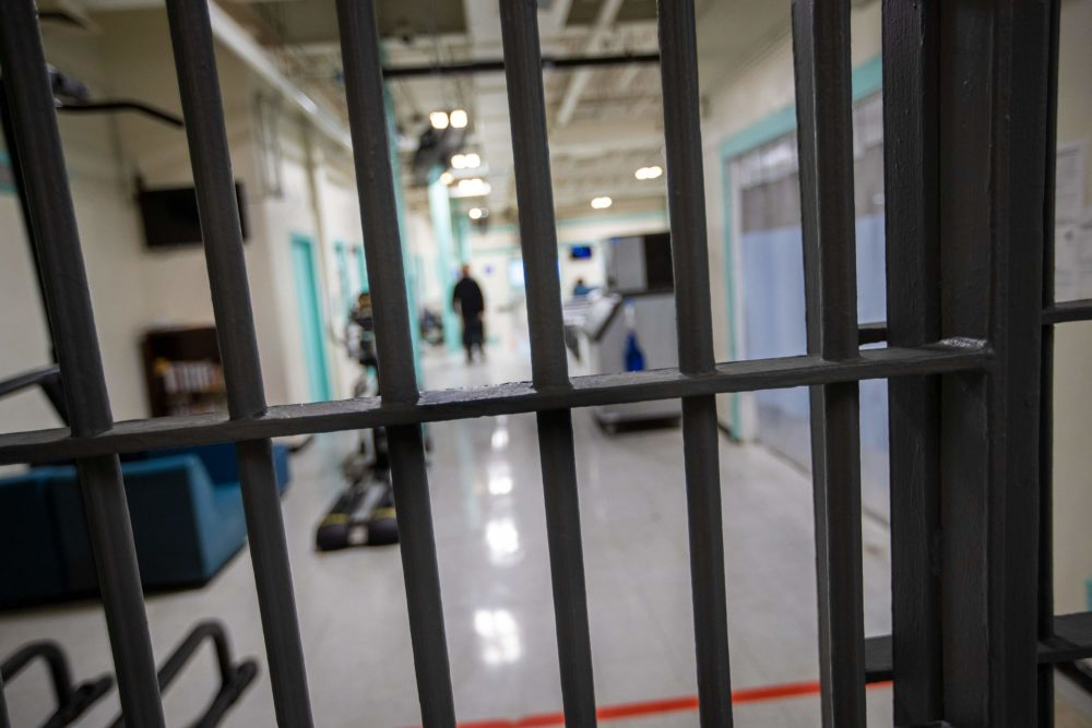 Essex County jail in Middleton. (Jesse Costa/WBUR)