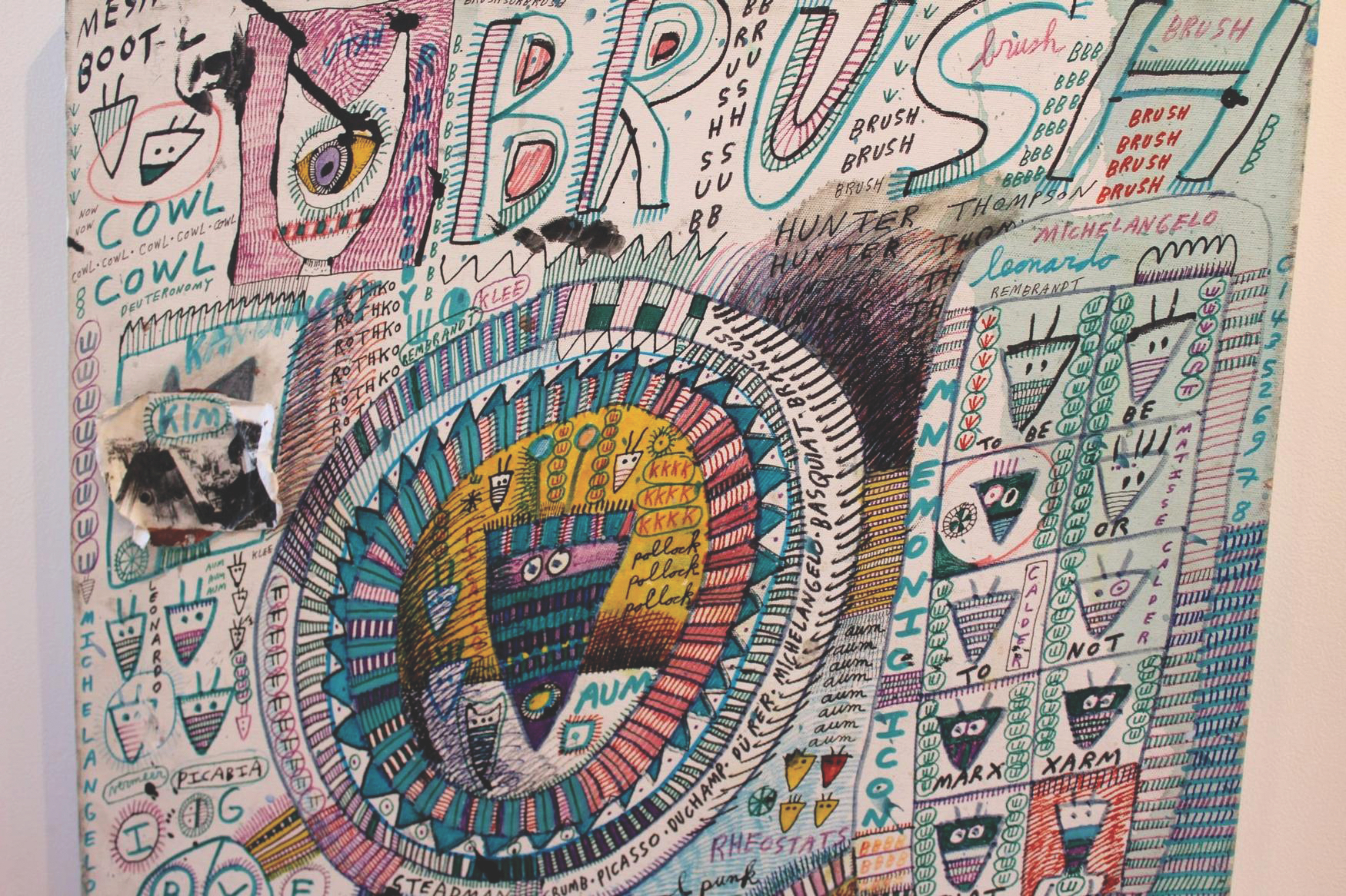 "Artwork by painter Jon Sarkin shown in the documentary ""Jon Sarkin: I am What I am."" (Courtesy ReelAbilities Film Festival)"