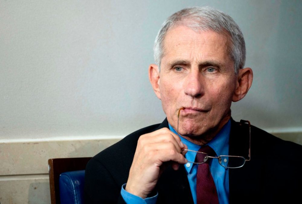Dr. Anthony Fauci, Director of the National Institute of Allergy and Infectious Diseases .(Jim Watson/AFP via Getty Images)