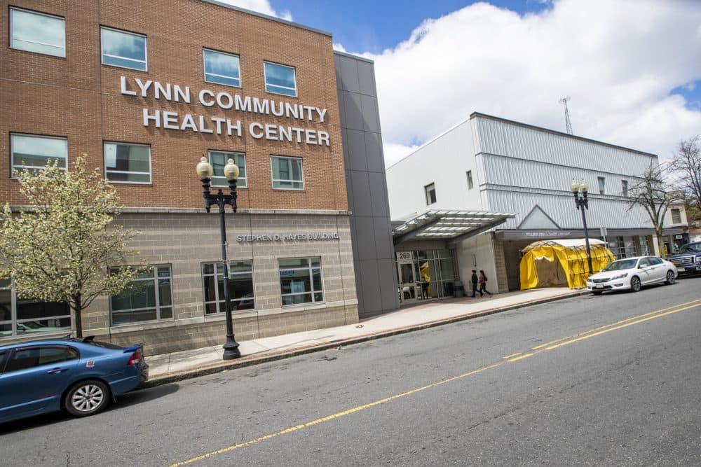The Lynn Community Health Center. (Jesse Costa/WBUR)