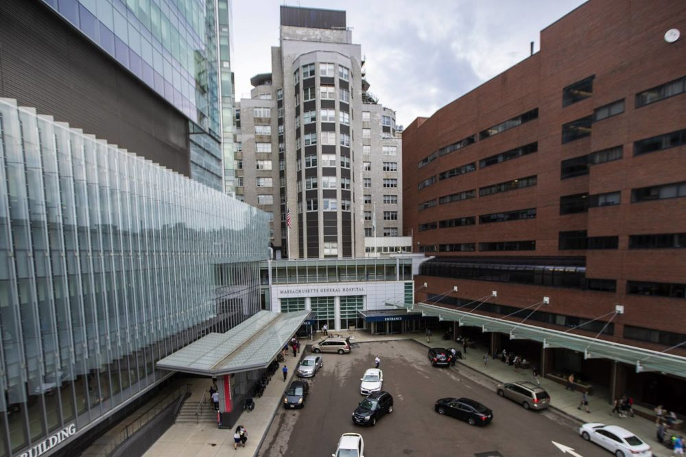 Massachusetts General Hospital. (Jesse Costa/WBUR)